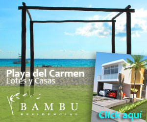 Lotes en playa del carmen